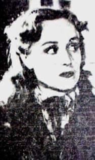 "Irma Córdoba  en ""Una luz en la ventana"""